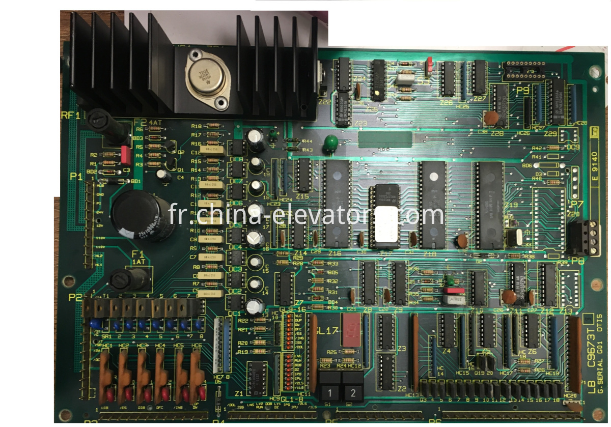 Mainboard for OTIS Elevators LB C9673T G01
