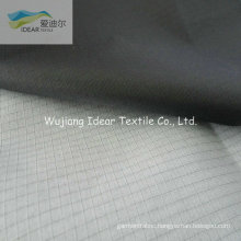 210T 0.3*0.3 Ripstop Nylon Taffeta Fabric With PU White Coating