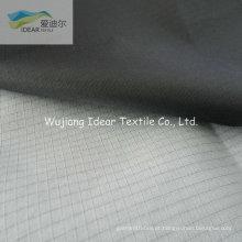 210T 0.3 * 0.3 Nylon Ripstop tecido tafetá com PU revestimento branco