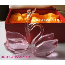 Crystal Wedding Gift Crystal Swan (JD-DW-110-111)