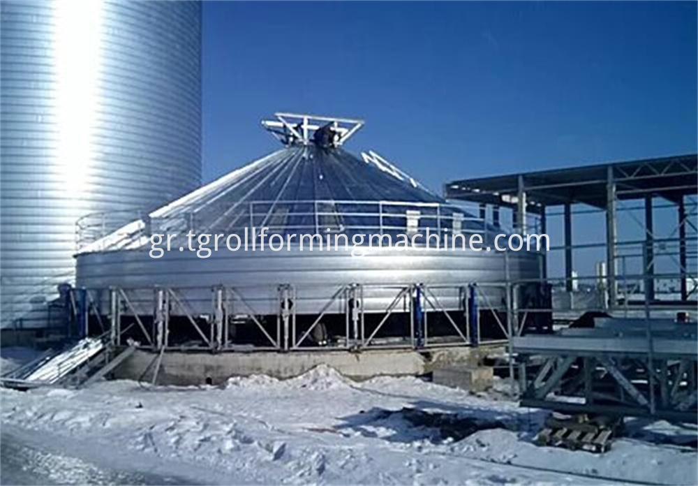 Steel Silo Making Machine