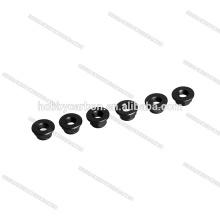 2018 nouveau !!! Ecrous à embase autobloquants de couleur écrou M5 CW noir