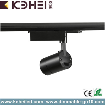 Black Dimmable 20W LED Track Lights CE RoHS