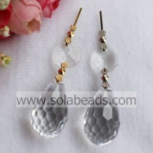 For Winter 18*32mm Beaded Lamp Garland Pendant