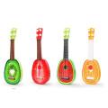 Kinder Musikinstrumente Holz Obst Gitarre