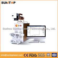 Máquina da marcação do laser da fibra do Desktop / mini máquina da marcação do laser