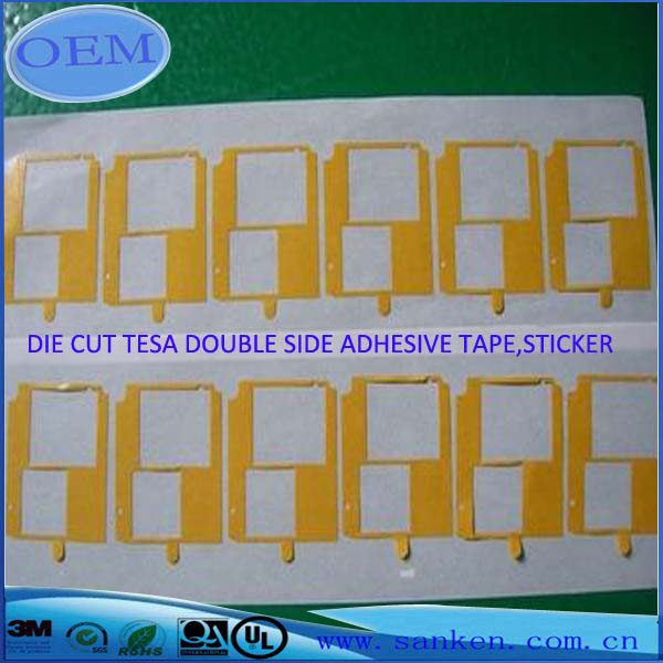 DIE CUT TESA DOUBLE SIDE ADHESIVE TAPE,STICKER 2