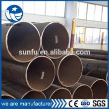 De primera calidad S235 S275 S355 LSAW tubo de acero con certificado CE