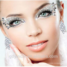 Fertigen Sie Augen-vorübergehenden Tätowierung-Aufkleber der Gesicht Kunst, Versorgungsmaterial für freie Proben besonders an
