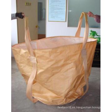 Saco grande del bolso del jumbo del jardín Sobres estupendos para el almacenaje de la flor