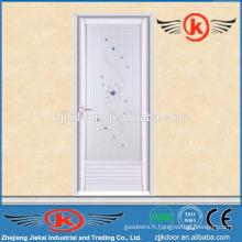 JK-AW9015 la plus vendante porte en aluminium turquoise pour salle de bain