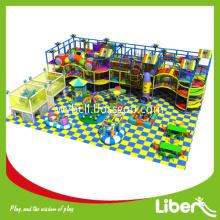 Inside amusement playground structure equipment set