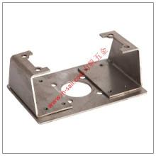 Chapa metálica da fabricação mecânica do hardware que carimba as peças de perfuração da soldadura