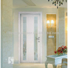 Aluminum Swing door with blind glass, toliet aluminum door