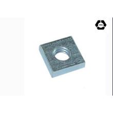 DIN562 en acier inoxydable carré en noix sans biseau / écrous pressés