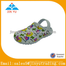 Popular white eva garden shoe for kids