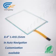Para la máquina del telar 8.4 pulgadas de pantalla táctil de cristal transparente de cristal líquido
