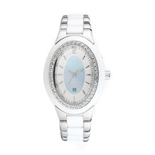 2016 montres de Madame OEM de montre d'acier inoxydable de quartz de vente chaude de Badatong