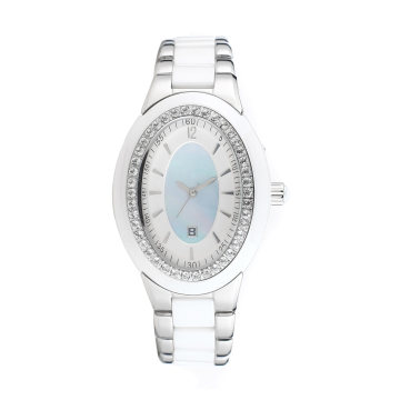 2016 Badatong Hot Selling Quartz Stainless Steel Watch Lady OEM Watches