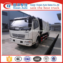 Dongfeng 8cbm camiones de basura para la venta