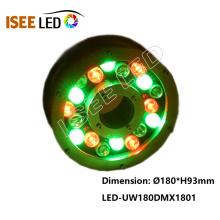 Music DMX LED luz subacuática IP65