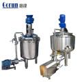 Tanque de mezcla de líquidos farmacéuticos para solución inyectable