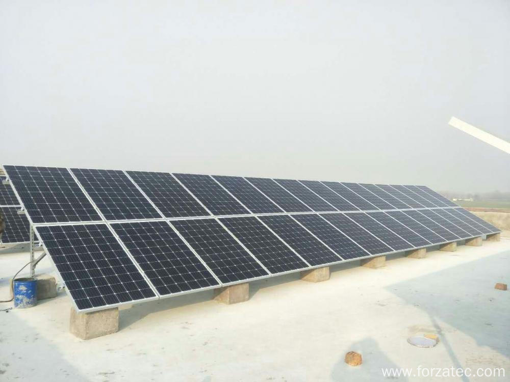 60KW Solar power plant