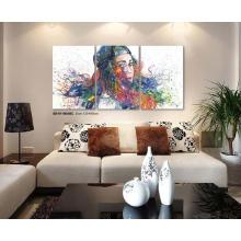 Pintura a óleo moderna popular do pop art 2016