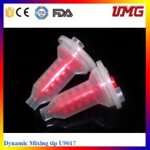 Proveedor Dental Materiales de impresión de puntas de mezcla dinámica