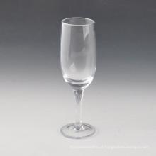 Vidro de Champagne de vidro da haste do redemoinho 200ml