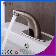 Fyeer Nickle Brushed Waschbecken Sensor Tap