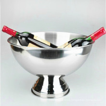 14 gallon silver plated dinner ware serving big stainless steel ice bowl