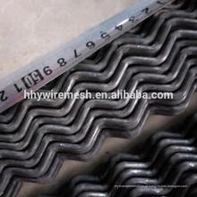 Malha engranzada malha da malha da rede de arame da tela do triturador 65Mn malha da vibraço do produto