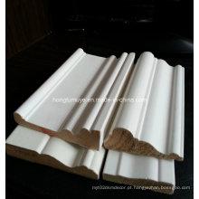 MDF primário e moldagem de madeira