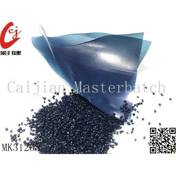 Deep Blue Masterbatch Granules