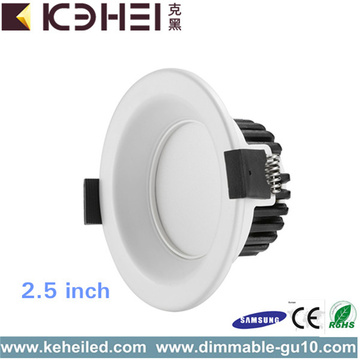 Encastré LED Dimmable Downlight 2,5 pouces