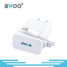 Carregador de viagem USB de alta qualidade com cabo