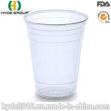 Taza plástica disponible clara 180cc de los PP
