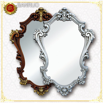 Hand Carved Decorative Wood Mirror Frame (PUJK01-F4+F9)