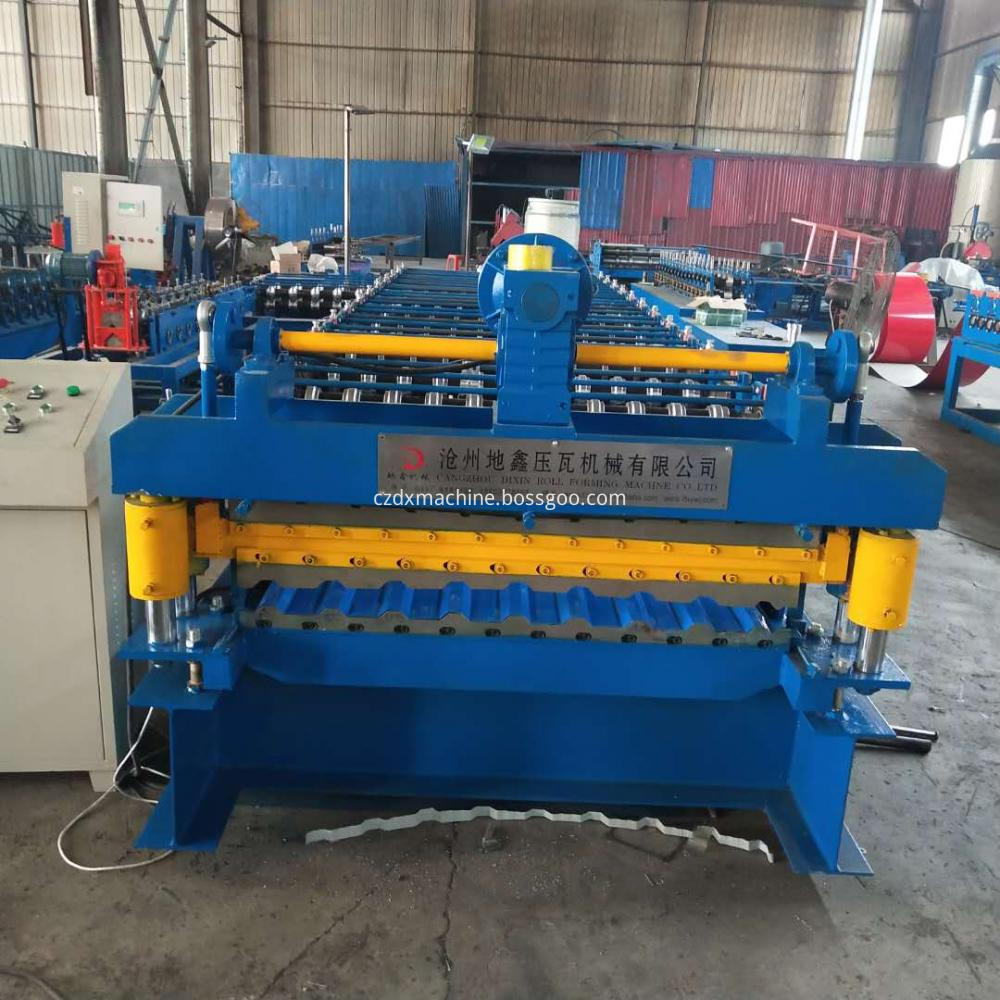 Colored Steel Wall Roof Panel Forming Machine