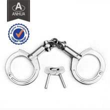 Military Police Silver Color Metal Handcuff