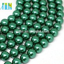 precio natural barato de la joyería de la perla de cáscara para los adornos de la tarjeta de boda