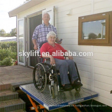 Eléctrico hidráulico CE 6m levantamiento de la silla de ruedas del asiento