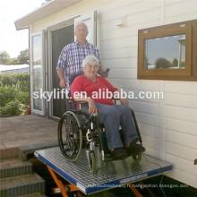 Électrique hydraulique CE 6m power lift up fauteuil roulant