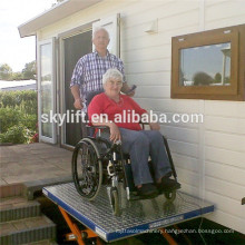 Electric wheelchair for disabled people lift