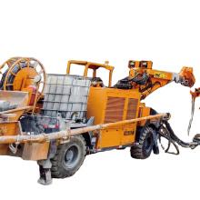 shotcrete robot machine Cement Spraying robotic arm KC25 30m3/h concrete machine