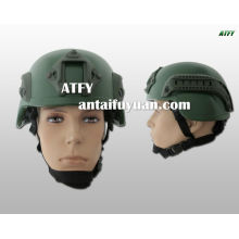 pare-balles kevlar casque / casque fibre de carbone