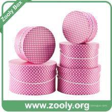 Круглый ящик для хранения / Печатная бумага Круглые коробочки для шляп