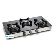 3 Burners Glass Gas Stove
