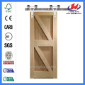 JHK-SK10 Farmhouse Door Faux Shutter Barn Door